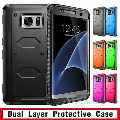 Samsung Galaxy S7 / S8 S9 Plus Case Cover Shockproof Hybrid Hard Rugged Rubber