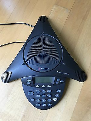 Polycom SoundStation2 Expandable Conference Phone (2200-16200-001) with Mic