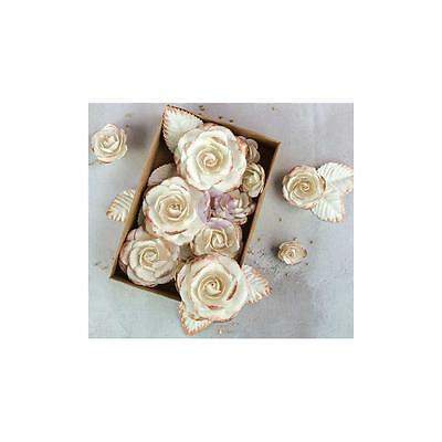 NEW Prima Marketing Boxed Flowers - Rose Gold Kiss