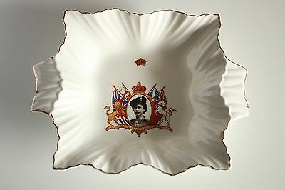 Queen Elizabeth 2 Coronation 1953 Small Bowl Made by Chelsea No.2