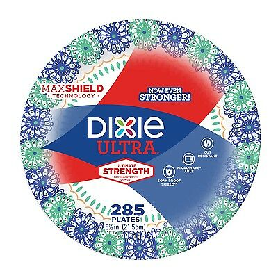 "Dixie Ultra 8.5"" Paper Plates 285-count"