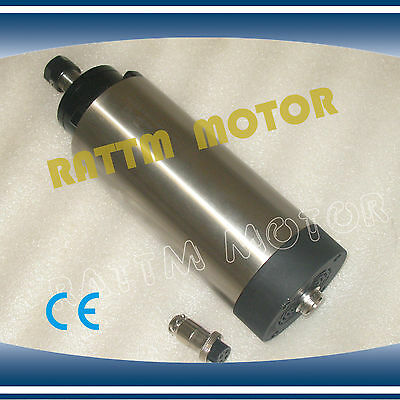 1.5KW Air Cooled Spindle Motor ER16 220V 24000rpm 80mm for CNC Router Machine