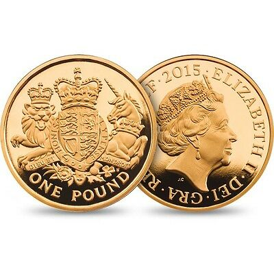 2015 £1 Coin 5Th Portrait Jody Clark Rare One Pound Uncirculated