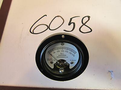 Ammeter  265-583  A & M Inst  NSN 6625012152030  Appears Unused