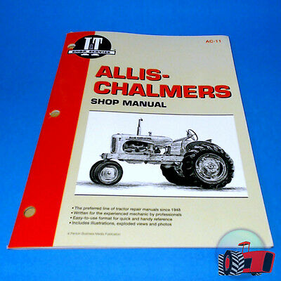 AC11 Workshop Manual Allis Chalmers WC WD WD45 WF Tractor and B C CA G RC