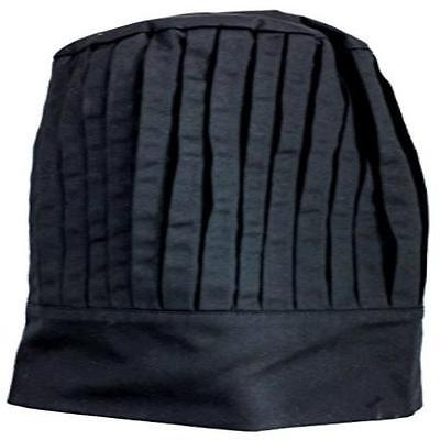 New Black Tall Chef Hat Free Comfort Comfortable Sunrise Kitchen Supply