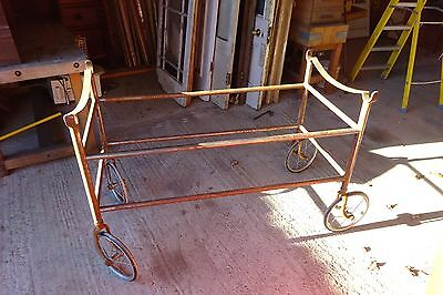 Hospital Trolley / Dining Table On Wheels