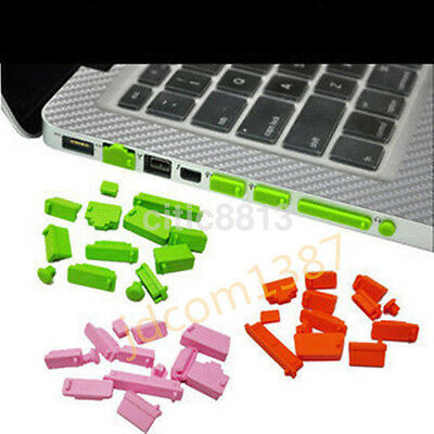 13Pcs Universal Silicone Anti-Dust USB Port Plug Cover Stopper Laptop Notebook^