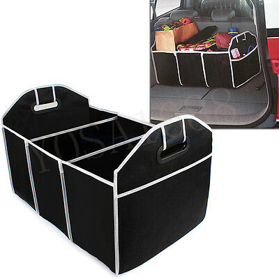 Collapsible Car Trunk Organizer Toys Food Storage Truck Cargo Container Bags Box