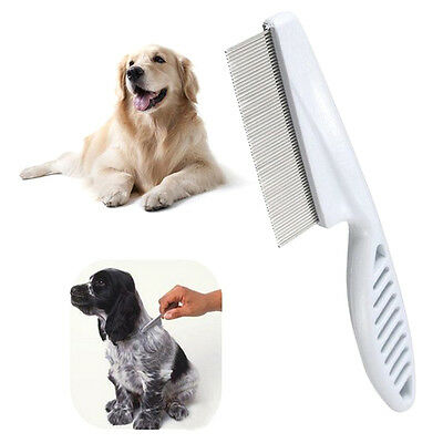 Trimmer Dust Grooming Hair Lice Brush Shedding Flea Pet Comb Stainless Steel Pin