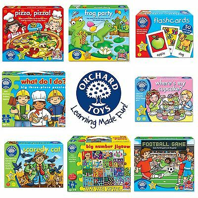 Orchard Toys Games - Educational Childrens Games - FREE P&P