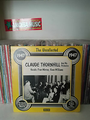 The Uncollected Claude Thornhill And His Orchestra Lp (Hindsight, Us 1977)