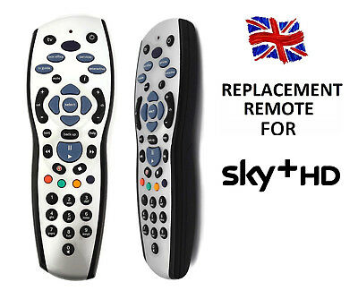REPLACEMENT CONTROLLER FOR SKY + HD PLUS REMOTE CONTROL Rev 9 - UK Stock