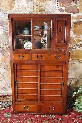 Antique Japanese Tansu Ceremonial Tea Cabinet~Chest~Sideboard~Drawers