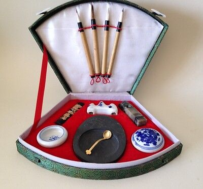 Chinese Painting-Calligraphy Set