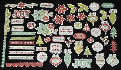 Kaisercraft 'MISTLETOE' Collectables Die Cut Shapes Christmas KAISER *NEW*