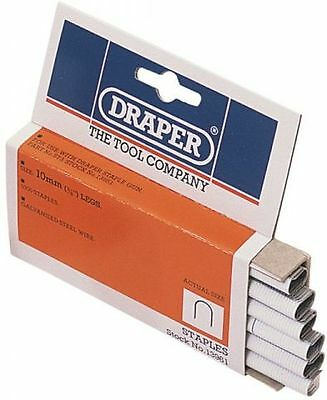 Draper Cable Staples 1000 x 10mm  Professional Standard Tool 13961