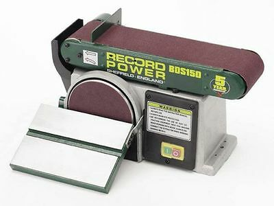 Record Power  Belt And Disc Sander BDS150