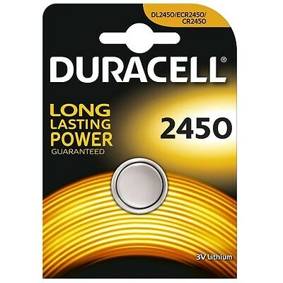 Duracell Lithium Coin CR2450 3v Battery - Pack of 1