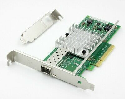 Genuine INTEL X520-DA1 E10G41BTDA 10G 82599ES SFP+ Network Adapter Yottamark New