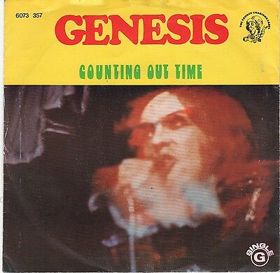 45Giri-Genesis-Counting Out Time-Riding The Scree-Portogallo 1974