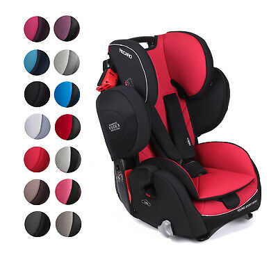 RECARO convertible child car seat YOUNG SPORT HERO 9-36kg 20-79lbs 9m-12y German