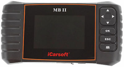iCarsoft MB II OBD2 Diagnostic Tool Mercedes Benz Sprinter ABS SRS Code Reset