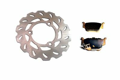 Honda TRX450R / TRX450ER ATV: New Rear Disc Brake Rotor and Pads