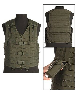 Trägerweste ′modular System′ Oliv Outdoor Military Airsoft Paintball Weste