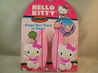 NEW Hello Kitty Towel Clips New Surfboard Beach Towel Clips Free Shipping ST10