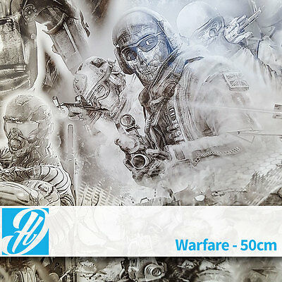 Warfare hydrographic film