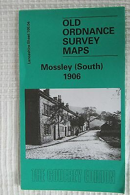 Old Ordnance Survey Map Mossley (South) 1906