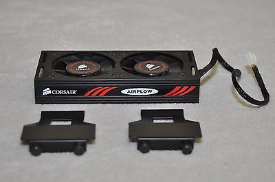 Corsair Dominator GT Airflow Two Fan Red/Black For RAM ( Excellent! )