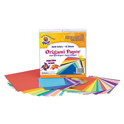 Pacon - Origami Paper - Sizes Up to 200mm - 55 Sheets