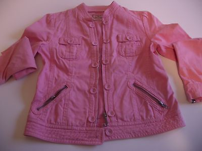 Juicy Couture  - Giacca Giubbino Jeans Rosa - 10 -12 A