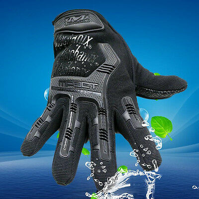 Touch Screen Military Tactical Airsoft Outdoor Hard Knuckle Full Finger Gloves G