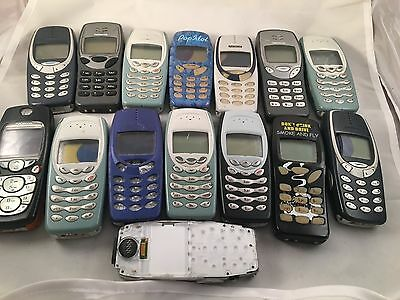 Joblot 15 x faulty Nokia 3310 , 3410 mobile phones