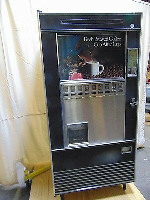 Refreshment Machinery Coin Operated Single Cup Hot Beverage Drink Coffee Maker