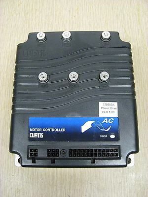 Curtis 1230-2107 310983A Programmable AC Induction Motor Speed Controller Used