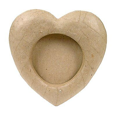 Creativ - Paper Mache - Vaulted Rounded Heart - 10cm