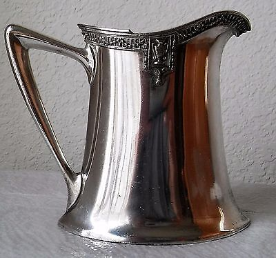 Lawrence B Smith Silver Plated Pitcher Creamer Cr; 1887-1958 #1643