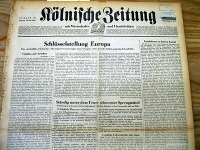 10 original German June 1944 WW II newspapers D-DAY  NORMANDY INVASION by ALLIES