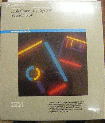 "IBM Version 3.30 Disk Operating System 3.5"" & 5.25"" Diskettes Vintage Sealed."