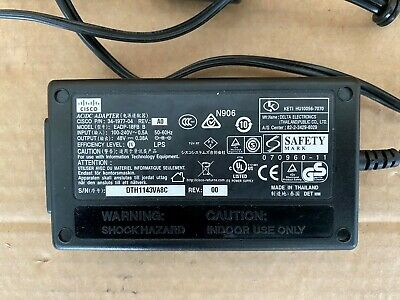 Complete Cisco IP Phone & Access Point AC Power Supply (Power Cube 3 Compatible)