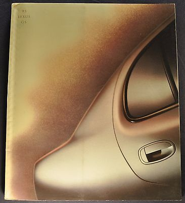 1995 Lexus GS 36pg Prestige Catalog Sales Brochure Excellent Original 95