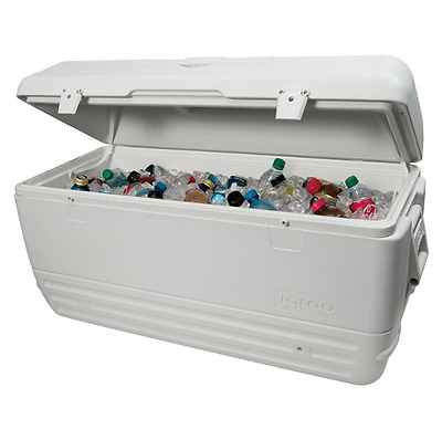 NEW Igloo 156 Litre Large Camping Outdoor Drink Food Party Cool Box Chest + Lock