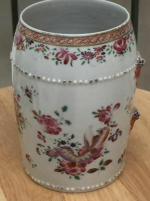Antique Chinese 18th century Export Famille Rose  Tankard