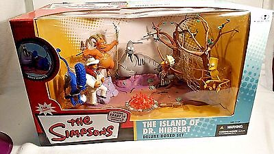 THE SIMPSONS McFarlane Toys TREEHOUSE OF HORRORS XIII Deluxe Boxed Set 2006 NIB