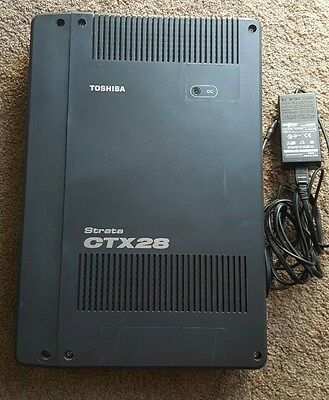 Toshiba CTX28 CHSU28A System 6 line x 16 Station w GVMU1 Voicemail and GETS1A