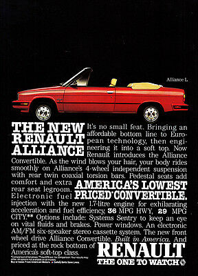 1985 Renault Convertible: Alliance L, Its No Small Feat (24811)